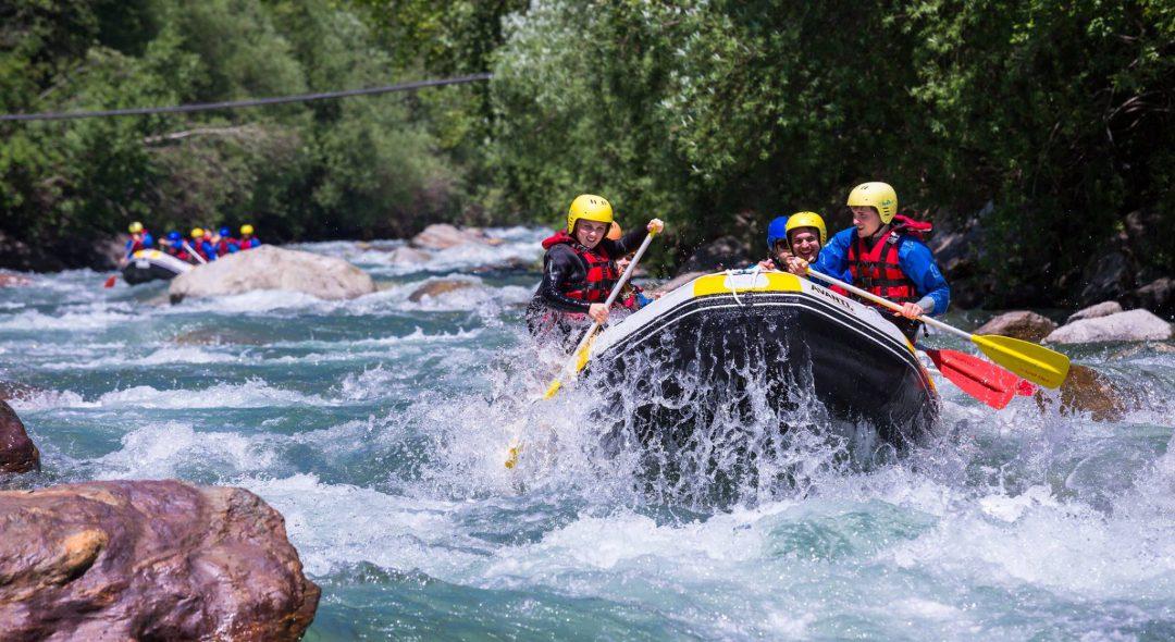 Rafting per i più sportivi