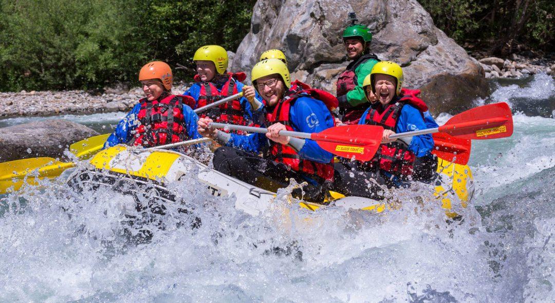 Rafting per famiglie e gruppi