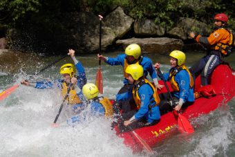 Passirio River Rafting